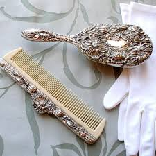 vintage comb shop vintage vanity set on wanelo