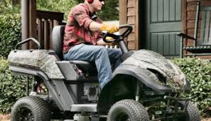 raven hybrid lawn mower a 3 in 1 gas fueled electric powered rider