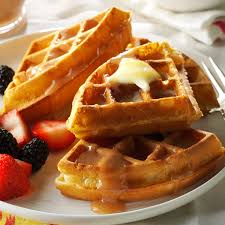 thanksgiving waffle recipe fluffy waffles recipe taste of home