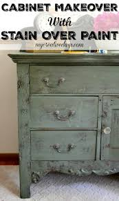 Painting Over Polyurethane Cabinets by Best 25 Stain Over Paint Ideas On Pinterest Staining Wood