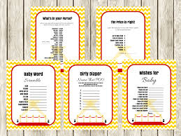 hollywood theme baby shower games magical printable