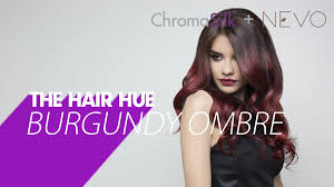 hair color 201 pravana 180 burgundy ombre hair color how to youtube