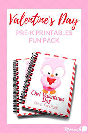 valentines day worksheet for preschool coloring pages mom