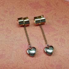 non metal earrings hunterxhunter hisoka earrings for non piecred ear 1 pair