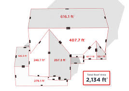 how to measure the square footage of a house how to measure a roof hover
