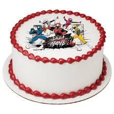 power rangers cake toppers power rangers steel ep20972 8 99 edible prints
