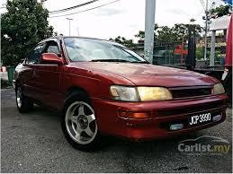 toyota corolla sedan 1993 toyota corolla 1993 seg 1 6 in kuala lumpur automatic sedan maroon