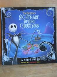 tim burton s nightmare before a pop up book tim