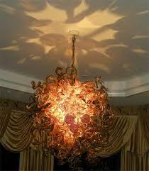 Art Chandelier Elegant Art Glass Chandelier 27 In Interior Designing Home Ideas