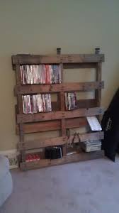 36 best pallet dvd racks images on pinterest dvd rack pallet