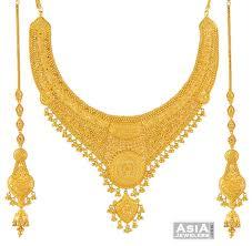 earring necklace set gold images Wedding necklace set gold necklace earring sets 22k necklace set jpg