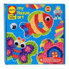 amazon com alex toys little hands tissue paper art toys u0026 games