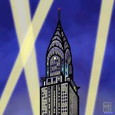 how to draw the chrysler building chrysler building step by step