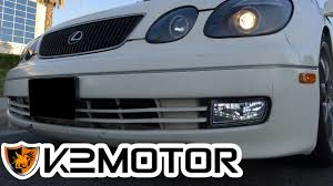 2000 lexus gs300 accessories k2 motor installation video 1998 2005 lexus gs300 gs400 led fog