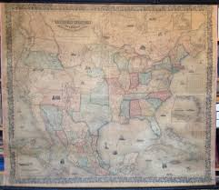 Map Of Central Usa by Antique Wall Maps