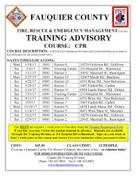 fauquier county fire u0026 rescue fauquier ems training