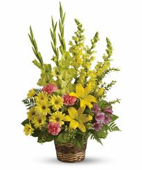 Traditional Flower Arrangement - symbolic meanings of traditional funeral flowers r u0026a florist