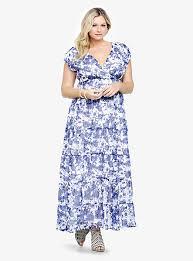 gorgeous floral plus size summer dresses 2014