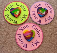 crayon valentines best 25 crayon heart ideas on melted crayon heart