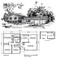 Split Level House Plan Attractive Design Ideas 4 1970s Split Level House Plans Homepeek