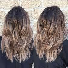 medium length hair with ombre highlights light brown ombre medium hair