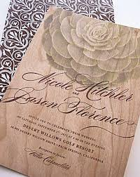 succulent wedding invitations real wood wedding invitations modern succulent invitation via