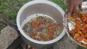 prawns biryani village prawns recipe shrimp biryani country