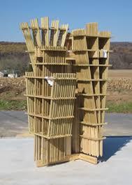 Climbing Plant Supports - wood trellis designs decorative plant supports climbing flowers