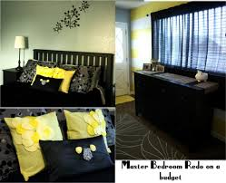 Yellow And Gray Wall Decor by Gray And Yellow Bedroom Walls Black Polished Powder Coated Steel