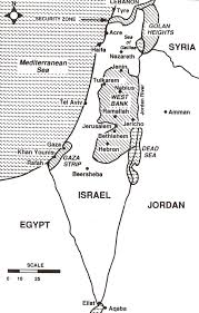 Map Of Israel And Palestine Palestine Information Project
