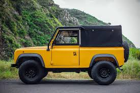 land rover defender 2017 6x6 land rover defender d90 beach runner hiconsumption