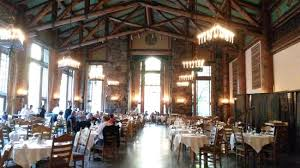 The Shining Picture Of The Majestic Yosemite Hotel Historic - The ahwahnee dining room