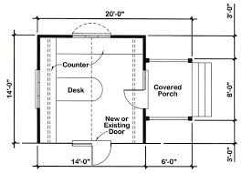 home office floor plans project plan 90026 14 x14 office addition for one and two story
