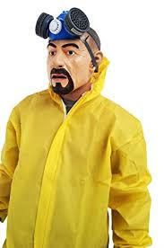 breaking bad costume breaking bad heisenberg walter white overall costume gas mask gloves