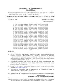 andhra pradesh building rules 2012 go ms no 168 ma dated 07 04