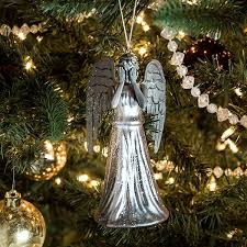 doctor who weeping glass ornament thinkgeek