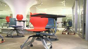 Student Chairs With Desk by Ki U0027s New Award Winning Learn2 Mobile Classroom Furniture Youtube
