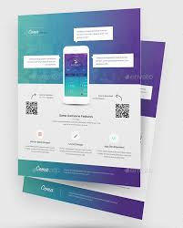 30 effective web u0026 mobile apps flyer psd templates web u0026 graphic