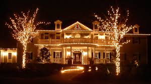 decorations beautiful christmas lights on houses decoration white