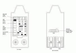 2003 ford f250 fuse panel wiring diagram and schematic diagram