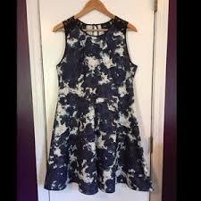 abstract pattern sleeveless dress nine west dresses skirts nine west poppy sundress poshmark