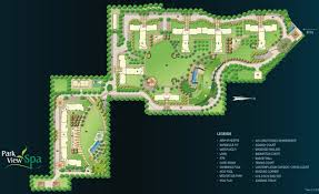layout plan park view spa sector 47 gurgaon residential