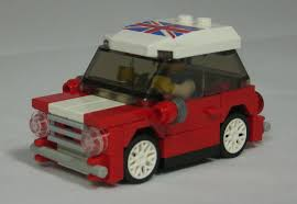 mini cooper polybag moc mini cooper union jack edition town eurobricks forums