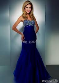 royal blue mermaid prom dresses 2017 discount evening dresses