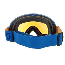 scott motocross goggles amazon com scott us lcg ski goggles blue orange illuminator