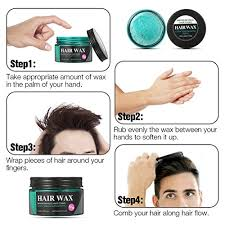 hair style esl amazon com strong hold hair wax luckyfine hair styling clay hair