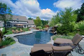 Landscaping Ideas For The Backyard Landscaping Ideas By Nj Custom Pool Backyard Design Expert