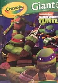 teenage mutant ninja turtles crayola 18 giant coloring pages 12 3