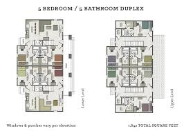 5 bedroom floor plan the cottages of tempe at 708 s lindon tempe az 85281 for