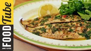 Fish Mediterranean Style Gennaro U0027s Gorgeous Grilled Fish With Pesto Dressing Youtube